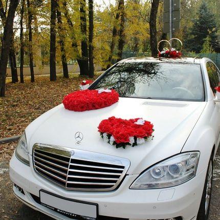Авто с водителем на свадьбу Мерседес S221