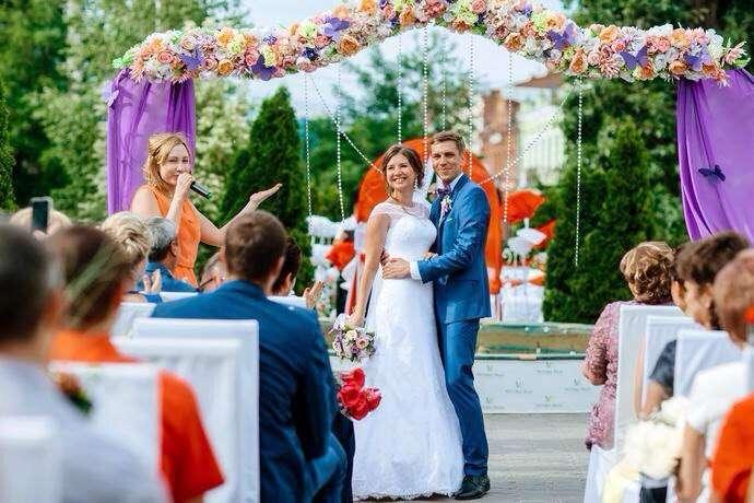 Фото 10156856 в коллекции свадебные церемонии - Ведущая церемоний Екатерина Литвинова