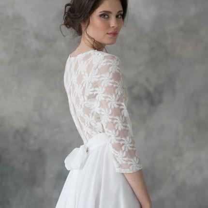 """Свадебное платье """"Игривая нежность"""""""