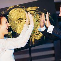 Золотое шоу на свадьбу в Риге