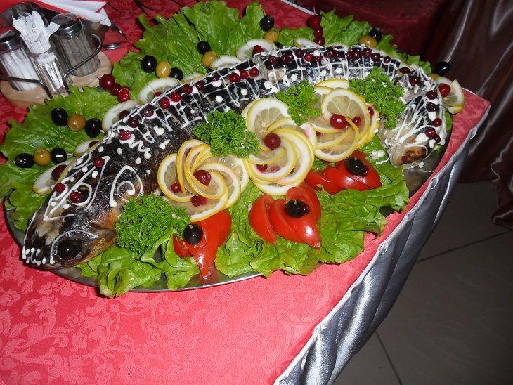 Необычные свадебные закуски с фото