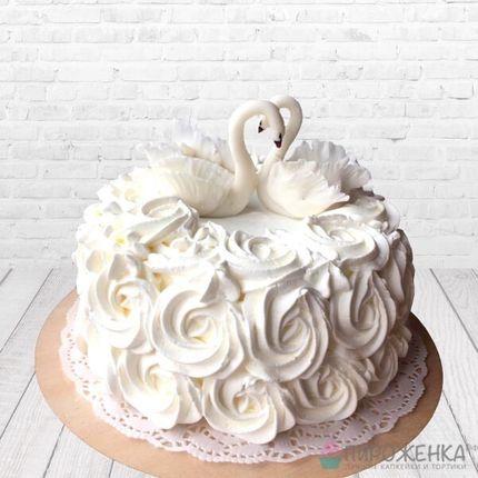 """Торт """"Лебеди"""""""