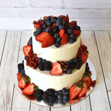 """Торт """"Ягодная роскошь"""""""