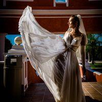 невеста и ее платье, фото сессия в мексике, свадьба