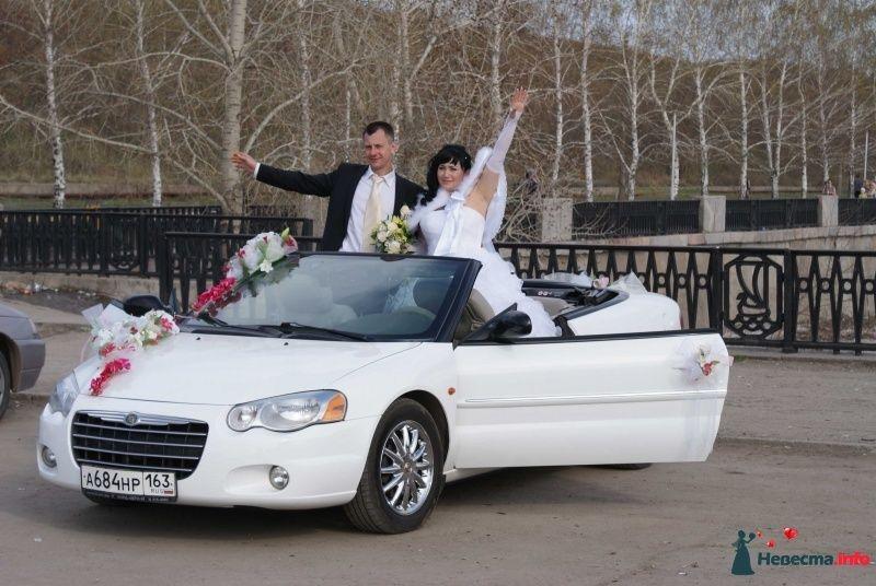 Фото 441519 в коллекции Мои фотографии - Prokabrik - аренда белых свадебных кабриолетов