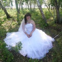 """На Татьяне свадебное платье """"Натали"""""""
