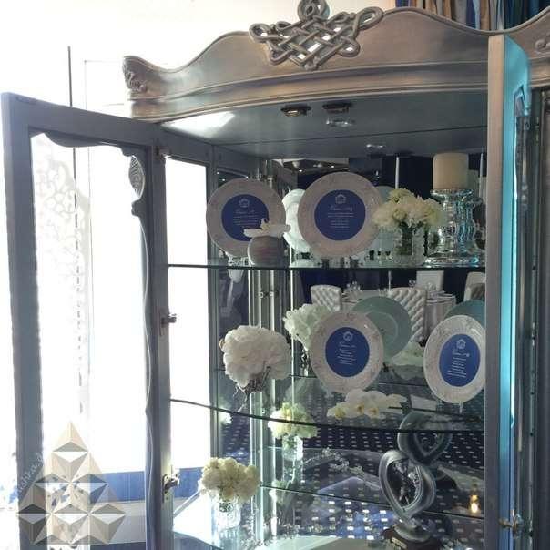 """Фото 10747772 в коллекции Сине-белая элегантная свадьба в """"Кроун Плазе"""". Ресторан Дорчестер - """"Shishka_decor"""" - студия декора"""