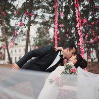 фотосессия в розовых тонах. Усадьба Середниково