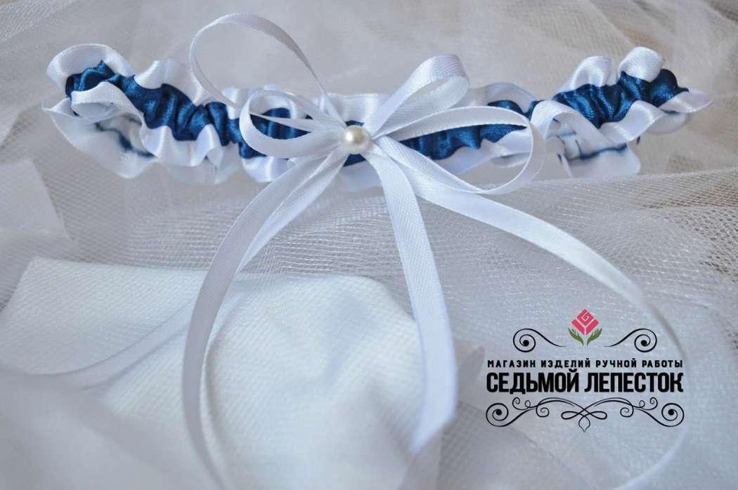 Подвязка для невесты Цена 500 руб. Цвет ленты и декора могут быть любыми Для обхвата ноги от 35 до 60 см (другой размер на заказ)  #подвязка #подвязкадляневесты #подвязканасвадьбу - фото 10460390 Свадебные аксессуары Седьмой лепесток