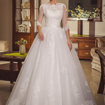 Свадебное платье, мод. 1482