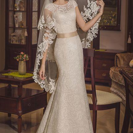 Свадебное платье, мод. 1496