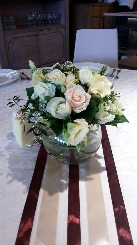 """Небольшая композиция на стол гостей.  Для заказа пишите сюда ->  - фото 10472848 Студия флористики """"Бон букет"""""""