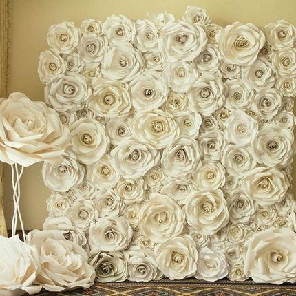Фотозона из дизайнерских цветов