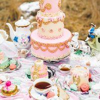 """Фотопроект в стиле Мария-Антуанетта"" для журнала Wedding Story"