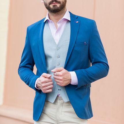 Пиджак приталенного кроя под брюки