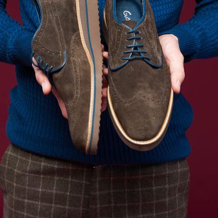 Обувь жениха Броги