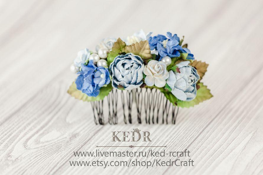 Фото 10569894 в коллекции цветочный гребень невесты - Авторская мастерская аксессуаров Kedr
