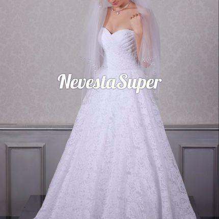 """Свадебное платье """"Богиня стиля"""""""