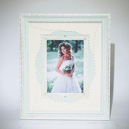 Дизайнерские рамы для свадебных фотографий