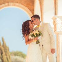 Свадьба Александра и Натальи Местоположение: Кипр, Айя-Напа, пляж Посейдон
