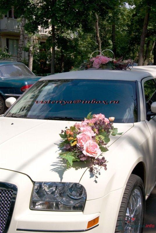 """Фото 33913 в коллекции Декор автомобиля и банкетного зала. - Студия флористики """"Вистерия"""""""
