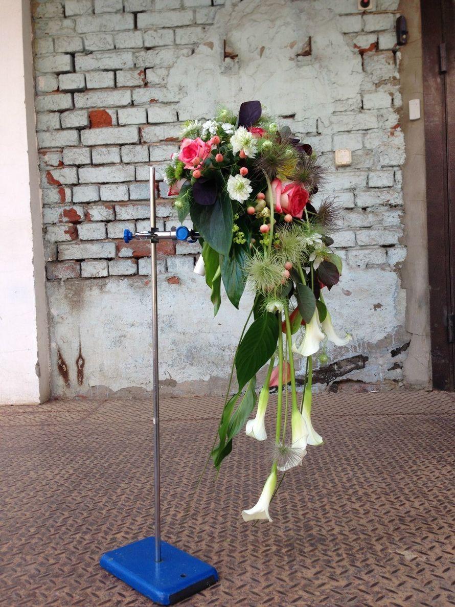 """Букет невесты """"Капля"""" - фото 11030694 Мастерская флористики и декора Эпиталь"""