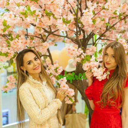 Розовая Яблоня luxe