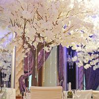 Свадебное оформление в ресторане Вилла Тоскана, свадебное оформление, белые деревья, свадебные деревья, красивое свадебное оформление,оформление свадеб, красивый декор, декор свадеб, президиум, оформление президиума,столы гостей, настольные композиции