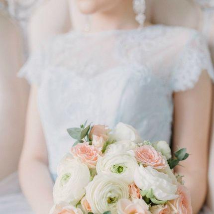 Маленький свадебный букет