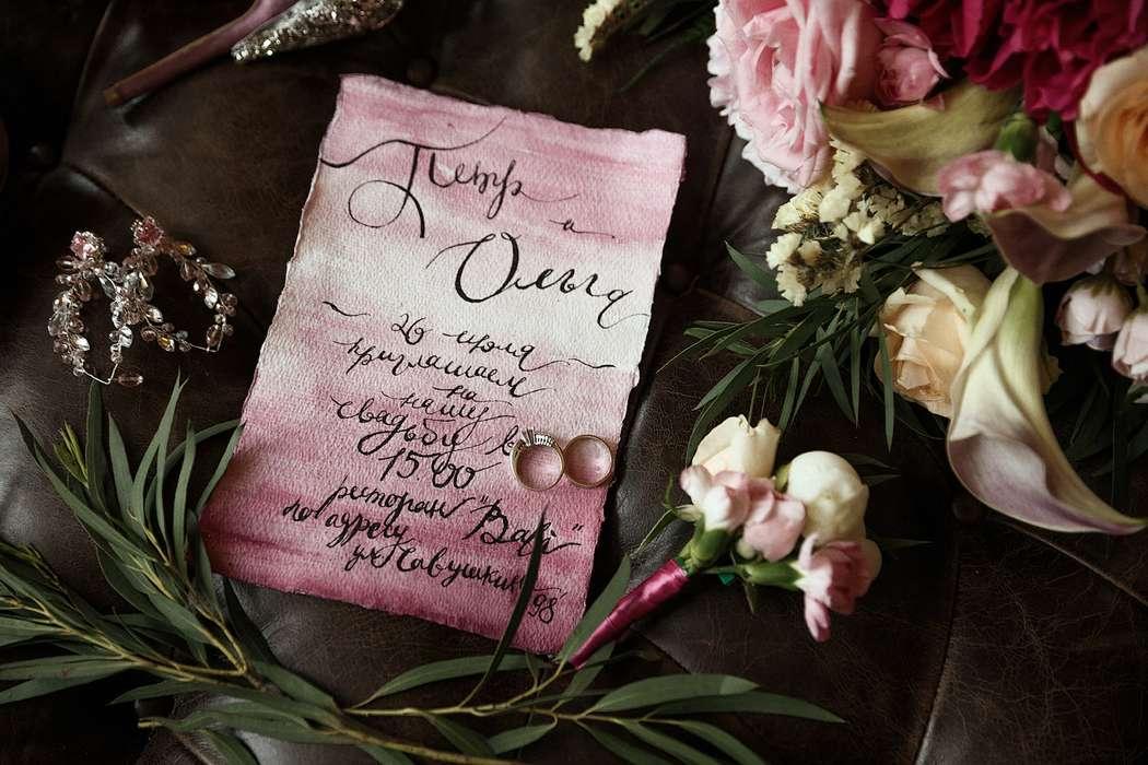 """Фото 17768050 в коллекции Примеры индивидуально разработанных приглашений - Студия полиграфии """"Cute wedding"""""""