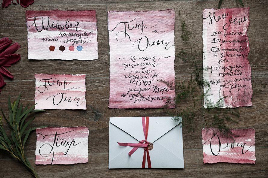 """Фото 17768054 в коллекции Примеры индивидуально разработанных приглашений - Студия полиграфии """"Cute wedding"""""""