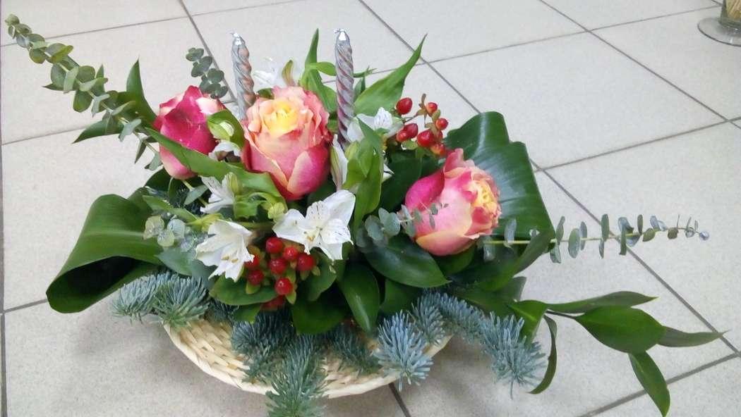 Фото 13357252 в коллекции Свадебные букеты и композиции на стол регистрации - Флорист Светлана Зайцева