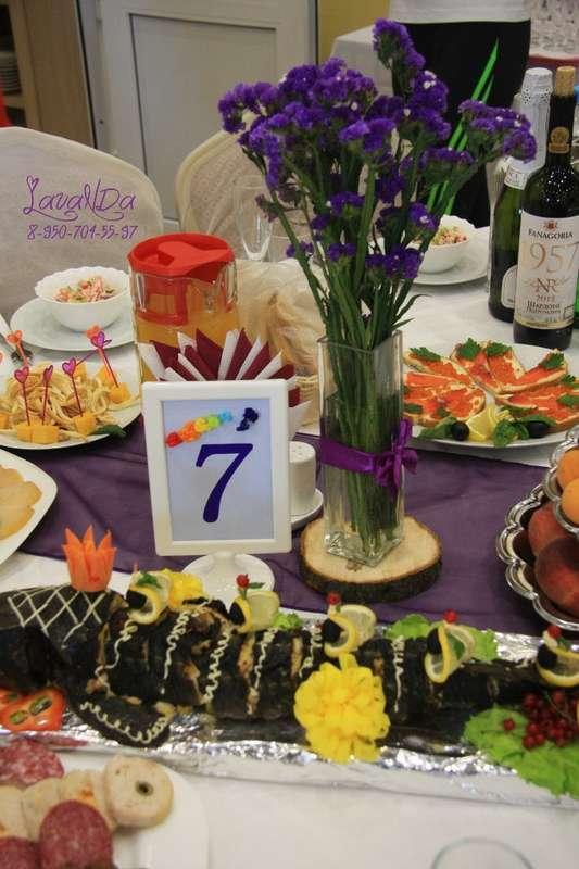 Букетики  и номерки на столы гостей  каждого цвета радуги - фото 10911520 Студия декора LavaNDa