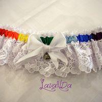 Подвязка для невесты Ольги