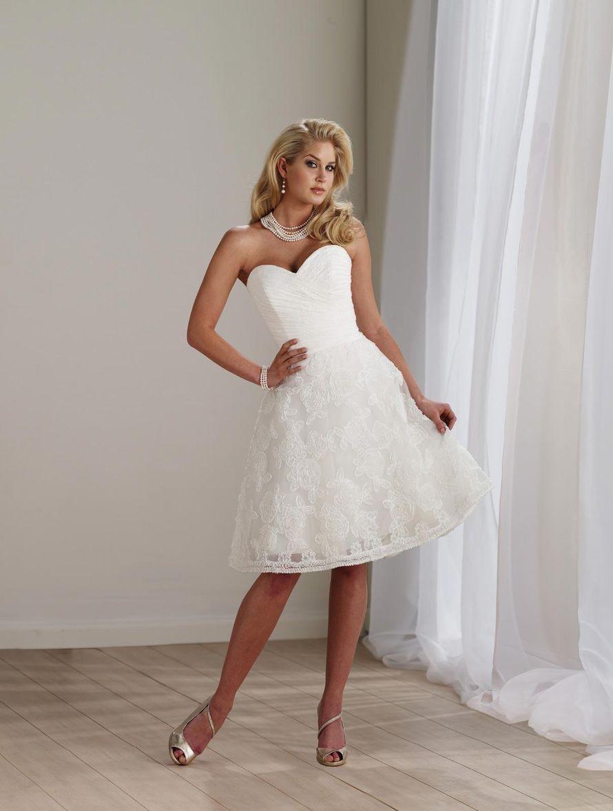 даже эти фото невест в коротком платье римляне создали для