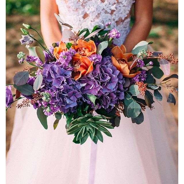 Букет невесты - фото 11096580 Флорист Савинова Виктория