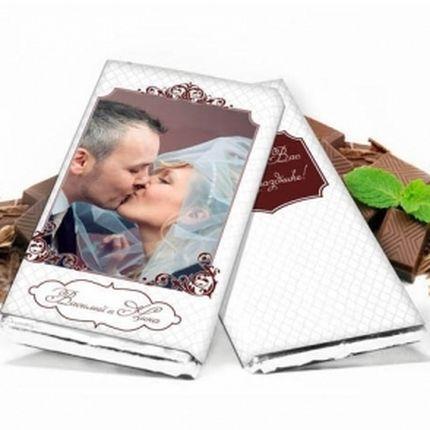 Нежный свадебный шоколад, 50 грамм