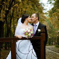 Осенняя дождливая свадьба Лилии и Олега