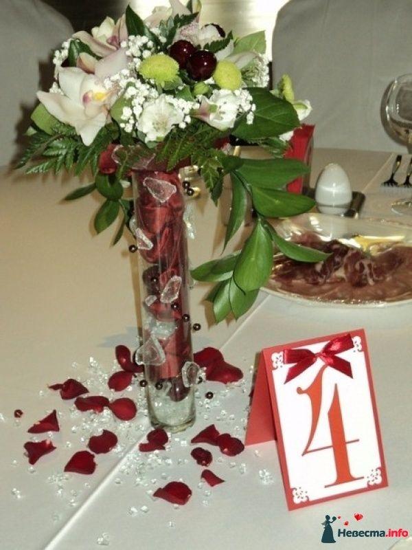 """Композиция на стол гостей - фото 452315 Салон цветов """"Flower's tino"""""""