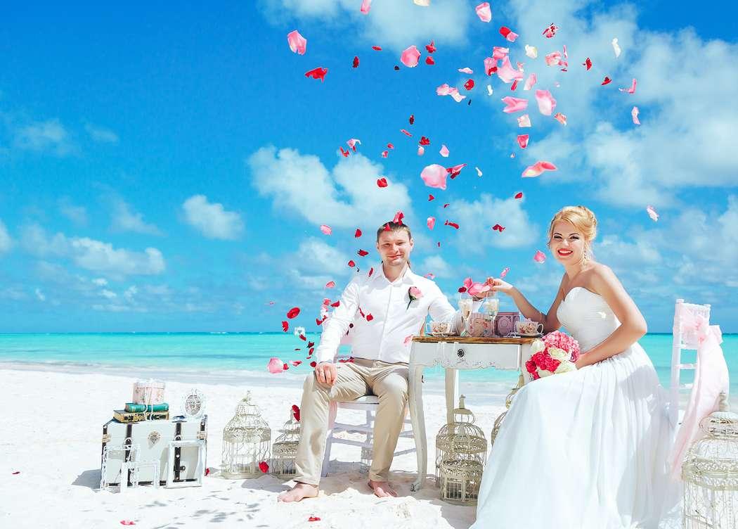 Фото 14493444 в коллекции Официальная свадьба в Доминикане на пляже Juanillo в Кап Кане {Сергей и Кристина} - Caribbean Wedding - свадьба в Доминикане
