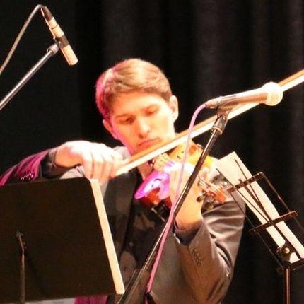 Дополнительный час выступления скрипача