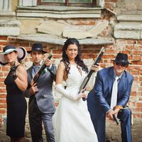 Гангстерская свадьба. Фотограф на свадьбу