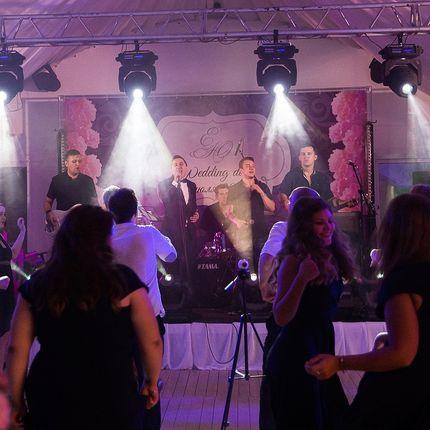 Проведение свадьбы совместно с кавер-группой