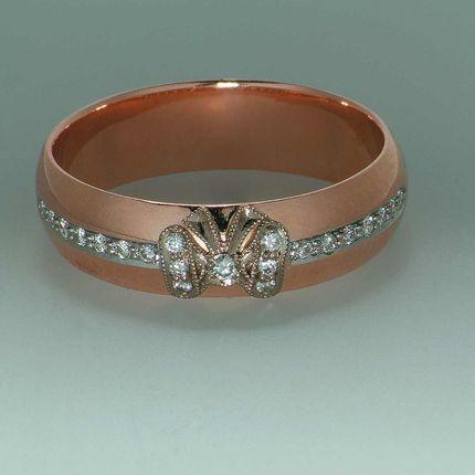Арт004 Обручальное кольцо (женское)