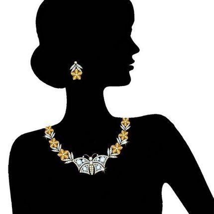 Колье и ожерелья под ключ