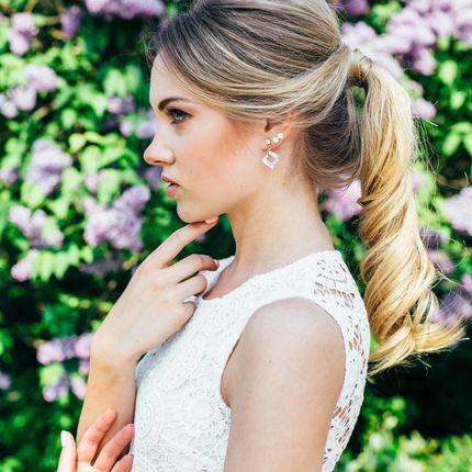 Свадебный образ - прическа и макияж до 14:00