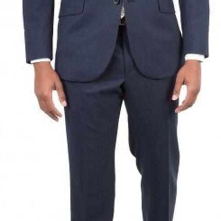 Темно-синий мужской костюм, два тона Gagliardi