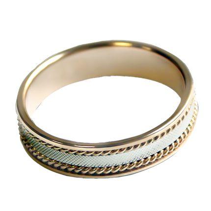 Обручальное кольцо тройное
