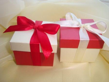 Двухцветные коробочки.Сочетание цветов может быть любым. - фото 510300 Свадебные бонбоньерки в Краснодаре