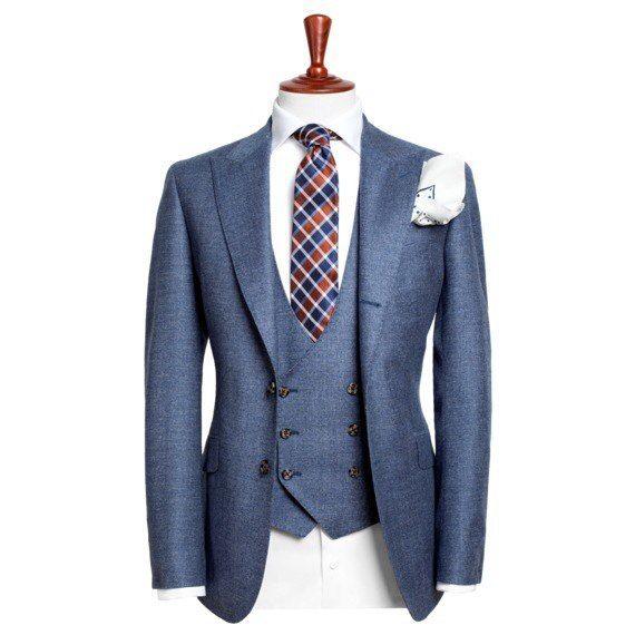 Индивидуальный пошив свадебного мужского костюма